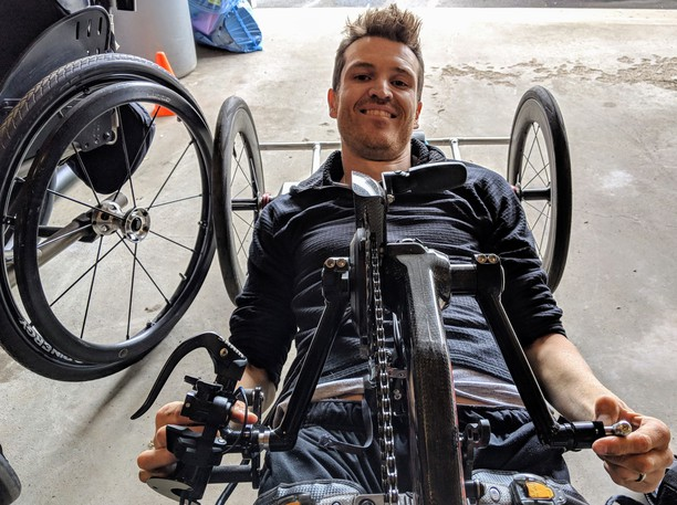 Riverview para-cyclist Matt Kinnieis getting ready for his longest-ever ride,a 100 mile (160-kilometre) cruise along the coast between Shediac and Port Elgin this Saturday to help the New Brunswick Lymphedema Association.