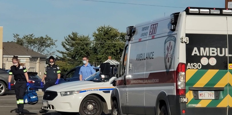 Codiac Regional RCMP were called to a Tim Hortons Tuesday on Mountain Road where an argument between two people got physical and pepper spray was used.