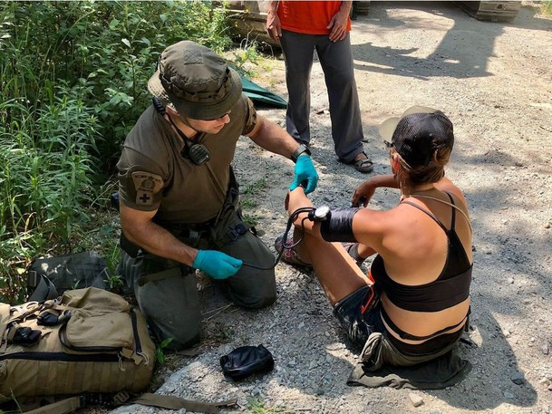 Police enforcement of the BC Supreme Court injunction order in the Fairy Creek Watershed area continued today, on July 13, 2021 in the area of Reid Mainline Road.