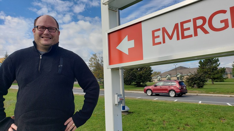 Bill Carter says if more people saw what he witnessed last week at the emergency room of the Dr. Everett Chalmers Regional Hospital, COVID-19 vaccinations would go up.