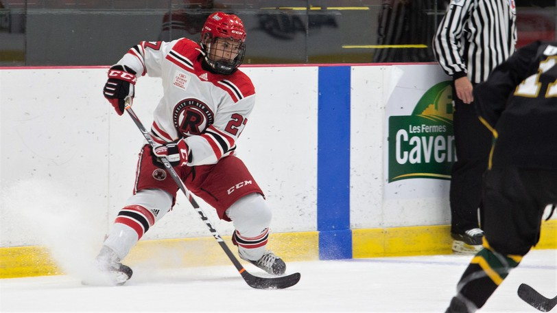 Jana Headrick, one of two Indigenous players on the UNB Reds women's hockey team this season, and her teammates will be hosting a series of learn to play hockey sessions for First Nations girls between the ages of six and 10.