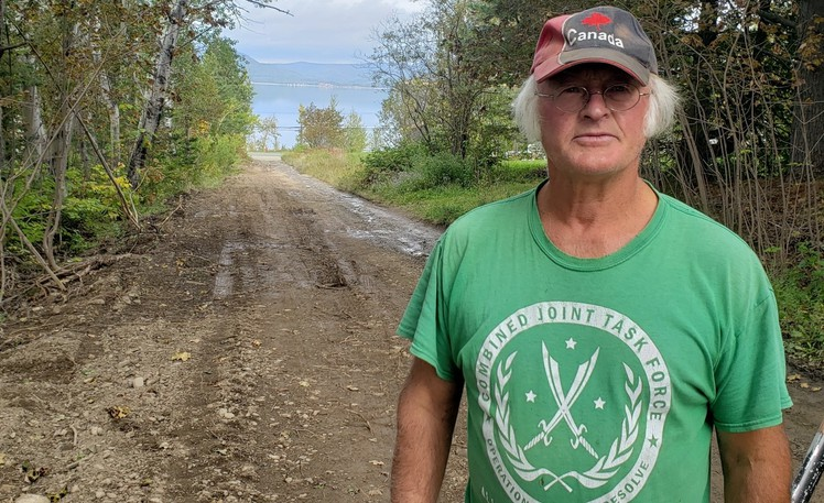 Point La Nim farmer Jim MacCurdy wants Methot Road, a dirt road next to his farm, repaired even though the province doesn't own it. A representative from the Department of Transportation and Infrastructure says that in fact some work will be done, but is limited because it is not a publicly-owned road.