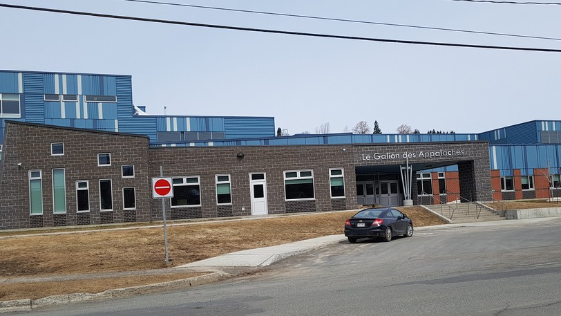 Le Galion des Appalaches elementary school in Campbellton was one of two city elementary schools impacted by COVID-19 exposure Wednesday, the other being Lord Beaverbrook School. A daycare in Atholville was also affected, Public Health said.