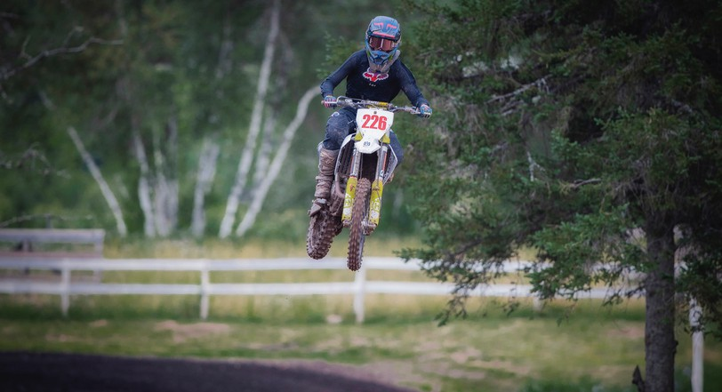Wyatt McQuinn, seen here in July, was involved in a serious crash at theRiverglade Motocross in Salisbury on Sept. 19 and is recovering at The Moncton Hospital.