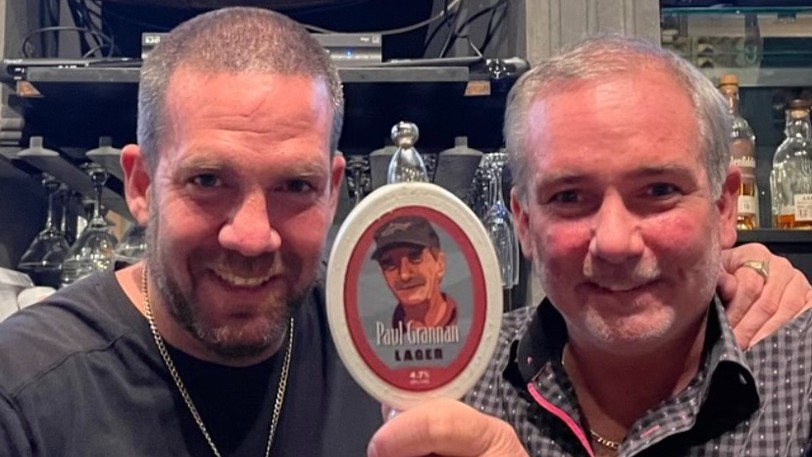 Chris and Jamie Grannan helped created a craft beer as tribute to their father, the late Saint John restaurateur Paul Grannan.