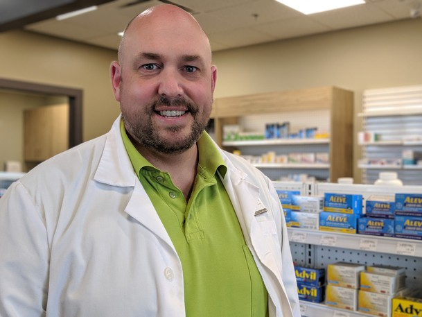 Andrew Drover is the president of the New Brunswick Pharmacists' Association.