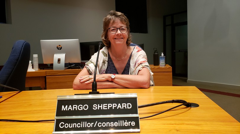 Fredericton hit its CO2 emission reduction target for 2030 a decade early last yer due to the impact of COVID, but Coun. Margo Sheppard said the city's targets are not tough enough.