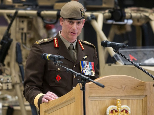 Major-General Peter Dawe is back working at defence headquarters working on the military's response to various reviews of sexual misconduct.
