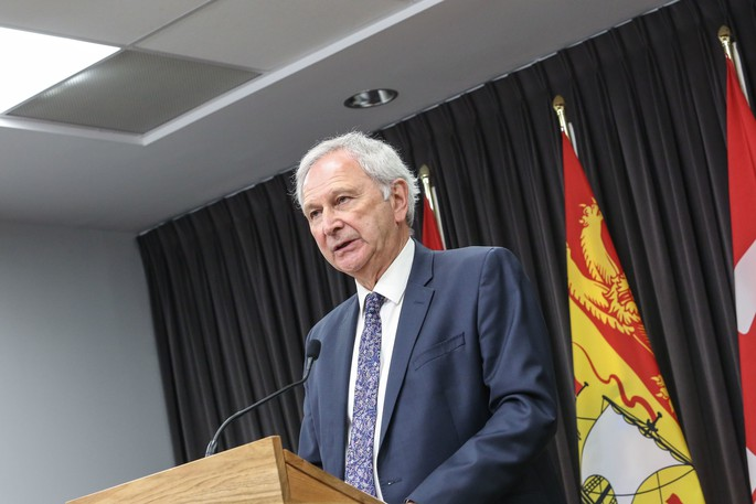 Premier Blaine Higgs is seen in this file photo.