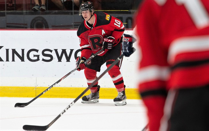 Tyler Boland, who led the Atlantic University Sport men's hockey conference with 48 points in 30 games in the 2019-20 season, is a key returnee for the University of New Brunswick Reds.