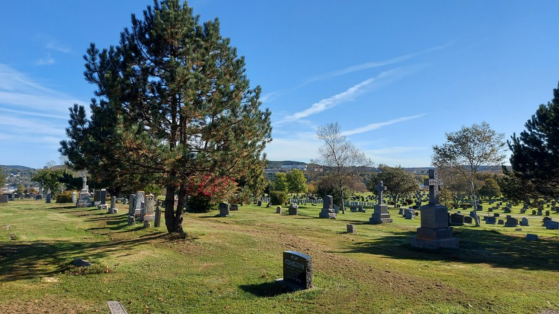 A perinatal graveside service will be held at Saint Joseph's Cemetery on Wednesday.