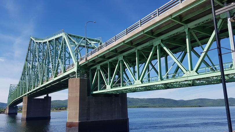 Major infrastructure work on the J.C. Van Horne Interprovincial Bridge between Campbellton to Quebec is scheduled to start next week and run through March 2022.