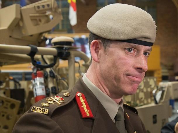 Major-General Peter Dawe is seen in a file photo.