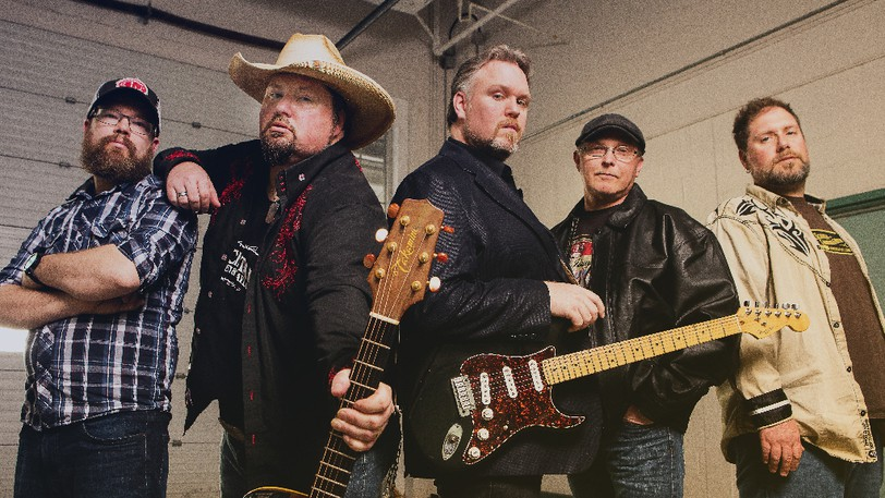 Charlie A'Court, centre, and Witchitaw's When Country Gets The Blues tour showcases original music as well as celebrate the legends of these genres, and blurs the lines between country and blues.