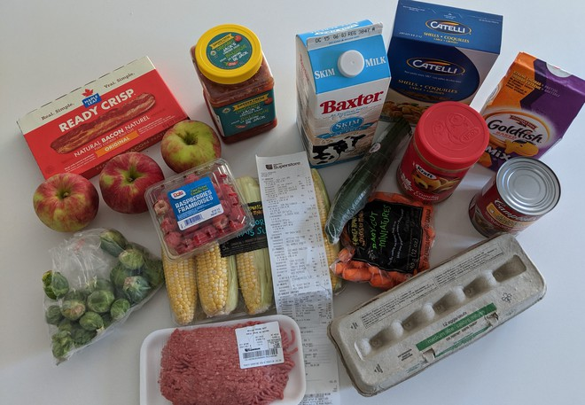 Are groceries cheaper or more expensive in Moncton or Toronto? The Times & Transcript asked three former Metro Moncton residents now living in Toronto, Edmonton and Kelowna to go shopping for 10 items to compare prices.