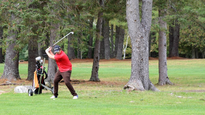 Student golfers demonstrated their skills at the NBIAA Southwest A regional tournament played at the Nackawic Golf Club on Oct. 1. Nackawic Senior High School finished in first place.