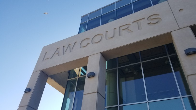 The Saint John Law Courts.