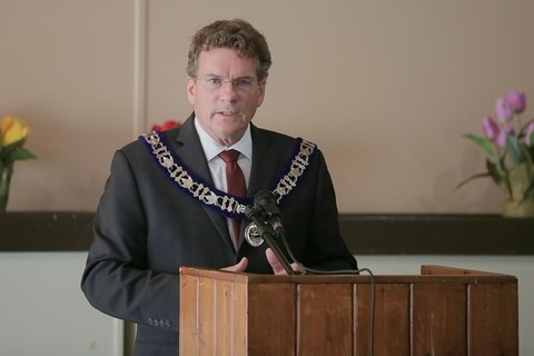 This Thanksgiving, Kings County mayors encourage residents to follow restrictions and limit contact with others, including Sussex Mayor Marc Thorne, pictured.