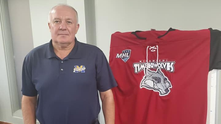 Retired teacher Mike LeBlanc has joined the Miramichi Timberwolves as an assistant coach.