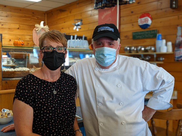Linda and John Godfrey own Homestead Restaurant in Riverview and are expecting a busy Thanksgiving weekend.