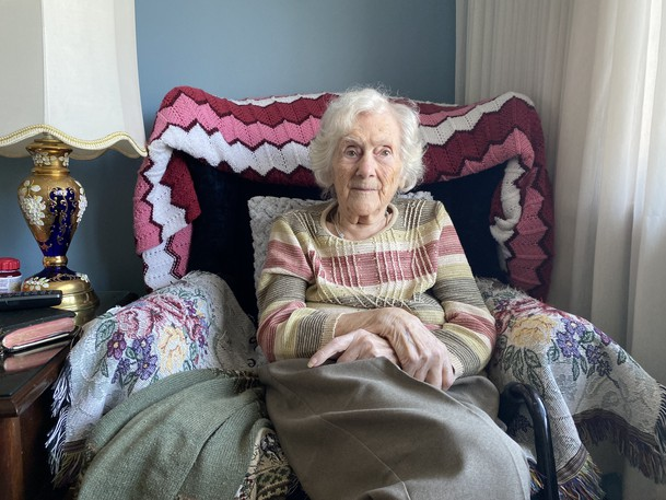 Beulah Lamb and her family first built their home sitting on a hill in Millidgevilleback in 1962.