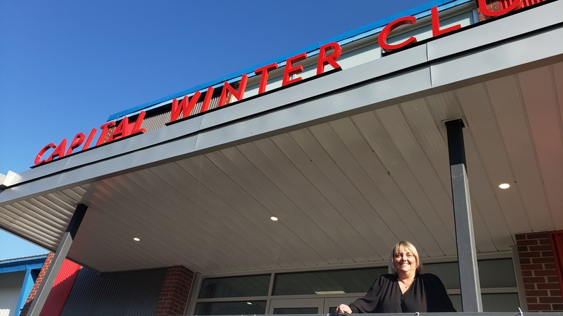 Jaime Watson, manager of the Capital Winter Club, says her staff are all fully vaccinated.