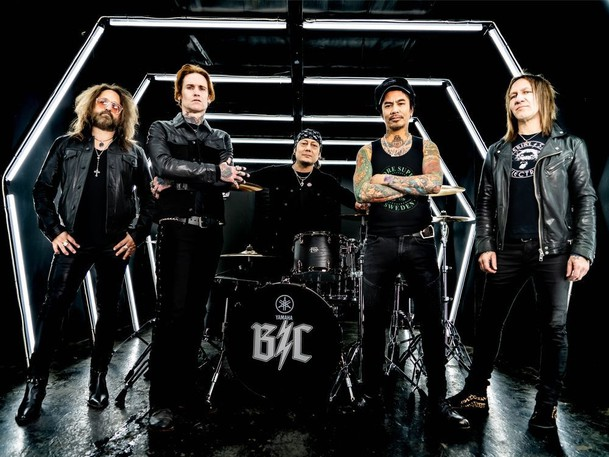Buckcherry is visiting Moncton as part of a world tour in support of its latest album, Hellbound.