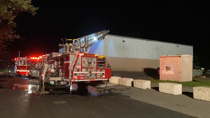 The Saint John Fire Departmentresponded to a structure fire at Glen Falls School in Saint John Oct. 9 at around 7:53 p.m. after a fire alarm was triggered in the school.