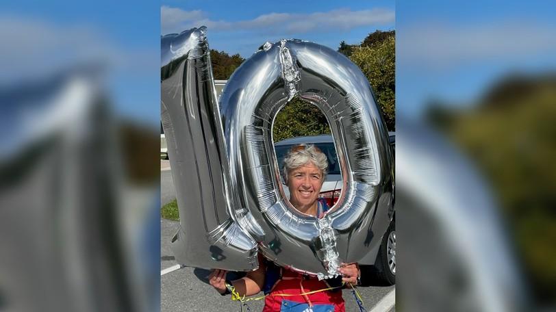 Brenda Guitard of Saint John, this week's Person on the Run, finished her 10thconsecutive Boston Marathon on Monday.