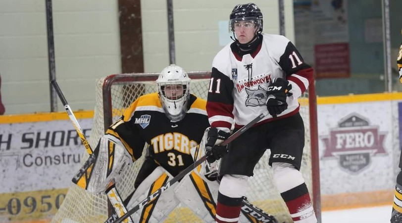 Cruz Loughlin turned away 26 shots in leading his Campbellton Junior A Tigers to a 4-3 win in Miramichi Saturday. On Tuesday, he was named to the EastLink North Division's team of the week.