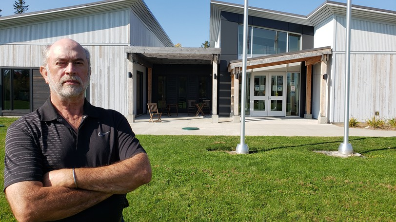Hanwell Mayor Dave Morrison wants to chop his community's tax rate.