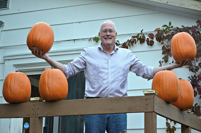 John Vickers, Historic Chatham Business District general manager, invites community members to this year's Great Pumpkin Walk, taking place until Nov. 1 in downtown Chatham.