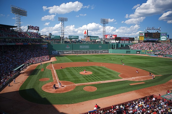 The Boston Red Sox are riding a six-game post-season winning streak at Fenway Park.