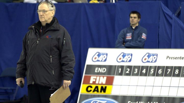 Curling official Lawrence Forbes of Moncton has worked at many of the sport's premier competitions in Canada and Europe.