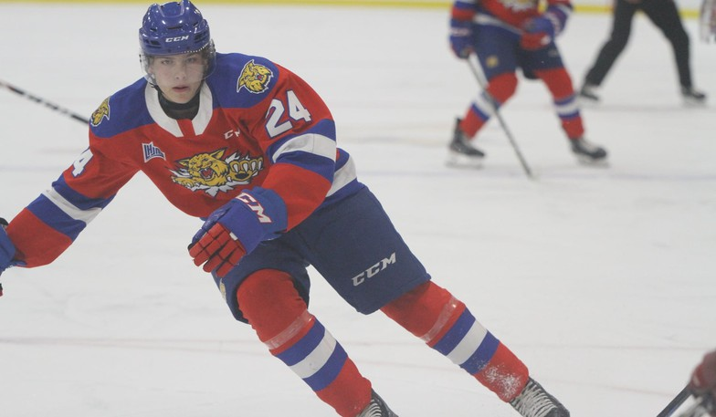 Moncton Flyers major under-18 team forward Preston Lounsbury has been called up for a pair of QMJHL games with the Moncton Wildcats.