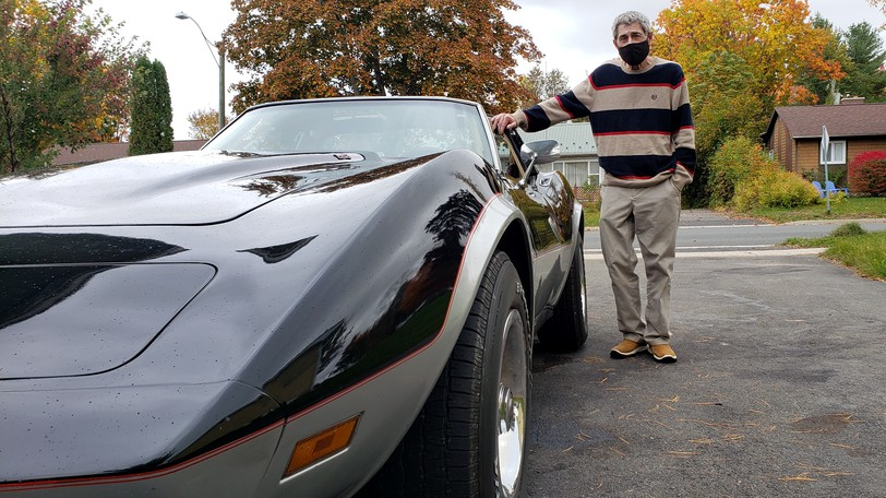 Tim Biddiscombe of Fredericton was hoping to drive his classic Corvette down to Pennsylvania to visit his daughter who he hasn't seen in two years, but he has a mix of COVID-19 vaccines and isn't sure he will be able to cross the U.S. border when it reopens net month.