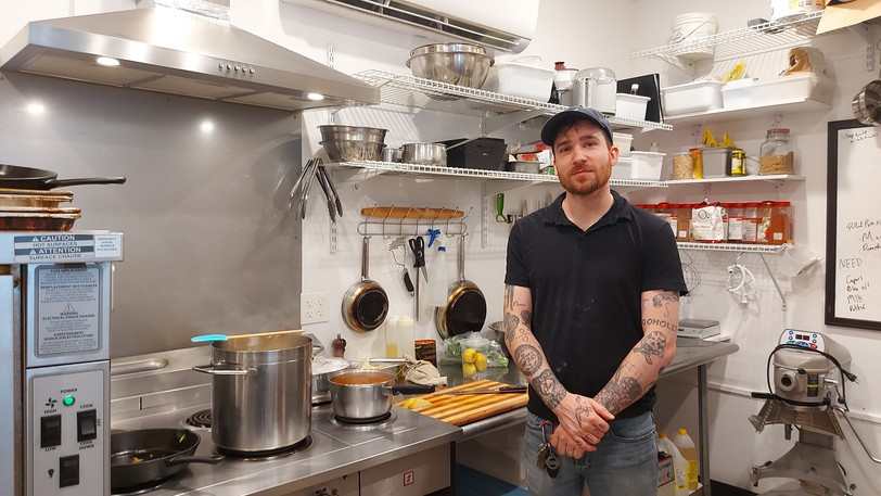 Matthew Elliott, owner of Ethel and Mary's, said the business opened three weeks before COVID-19 and it has struggled to get a leg up during the pandemic.