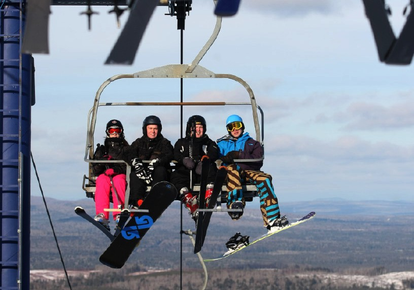 Crabbe Mountain is open during the March break.
