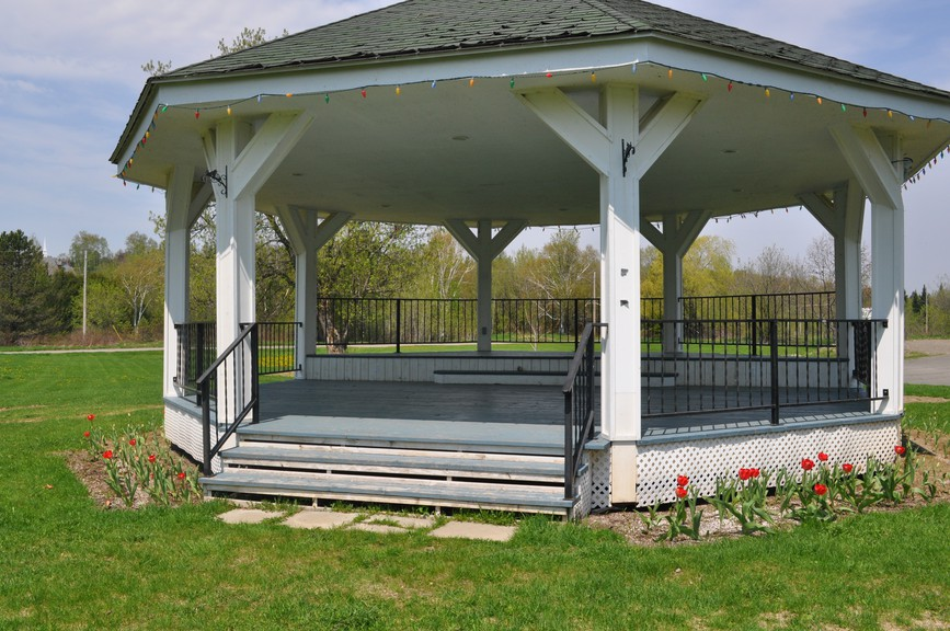 The Perth-Andover bandstand