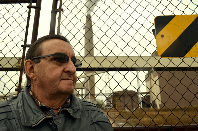 Belledune Mayor Joe Noel is pictured outside the Belledune Generating Station in this file photo. The community has been placed back in the orange phase of recovery following a recent outbreak in Zone 5, as well as confirmed cases at the Belledune Generating Station, he said.