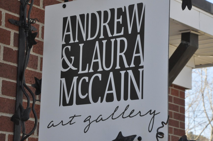 Andrew and Laura McCain Art Gallery in Florenceville-Bristol. Director Jennifer Stead and artist James Buxton are hosting a carving camp for children ages 10 and up on July 22 and 23.