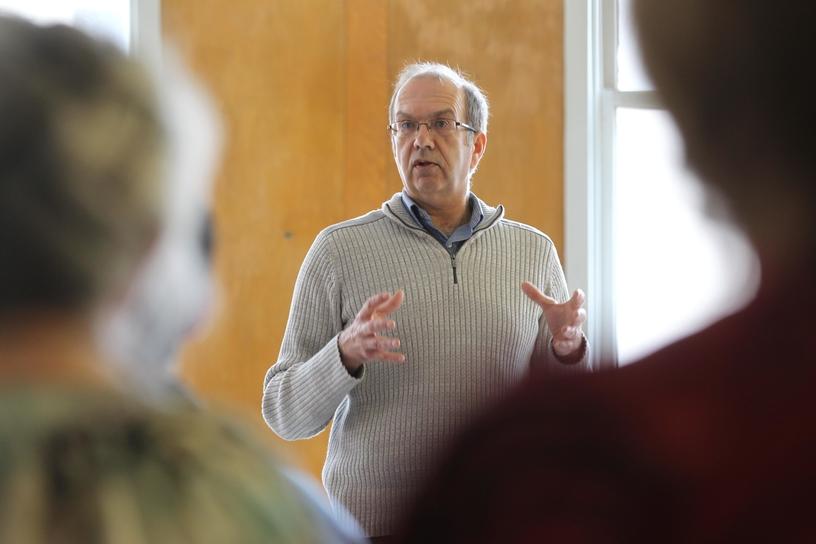 Human Development Council executive director Randy Hatfield.