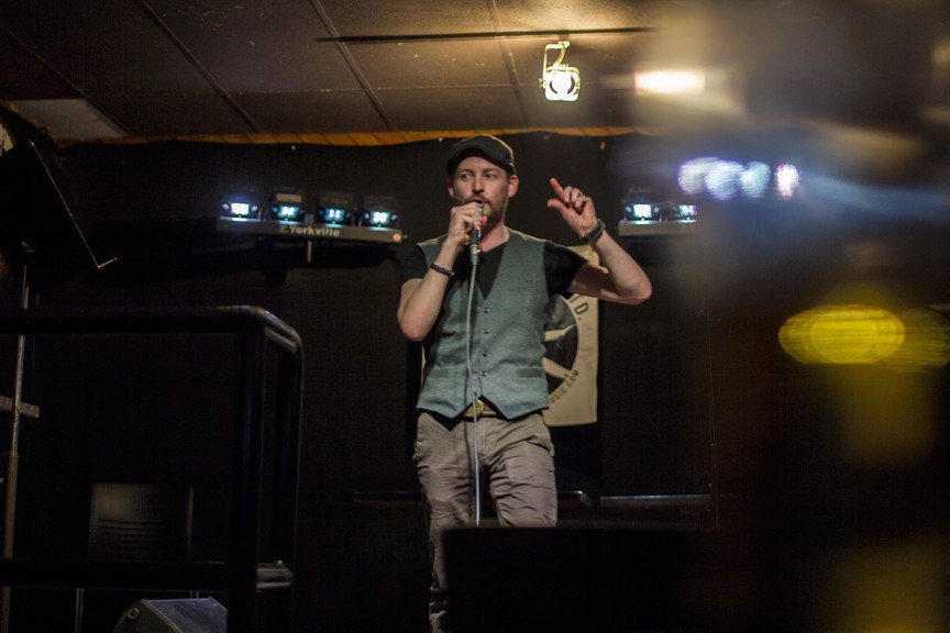 Comedian Jimmy MacKinley said he's eager to take his comedy act back on the road this fall.