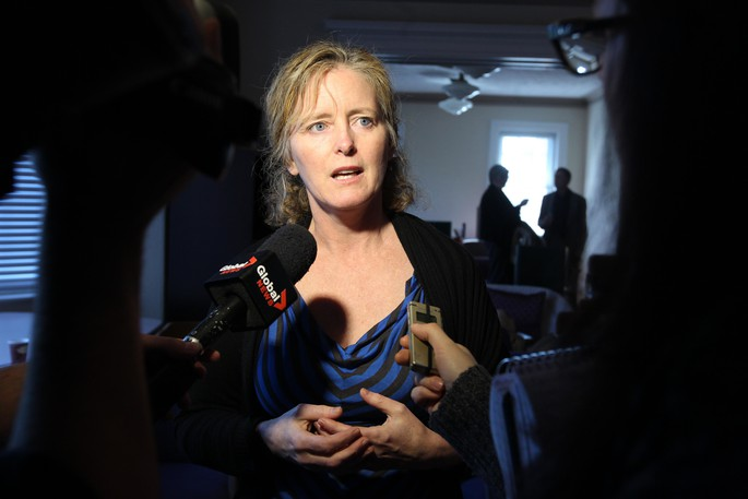 Dr. Eilish Cleary, New Brunswick's former chief medical officer of health, is seen in this undated file photo.