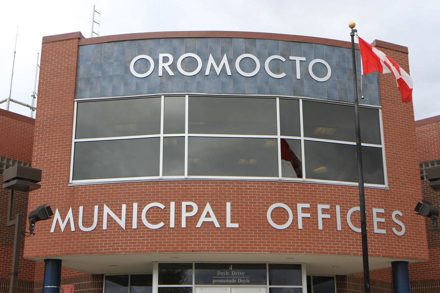 Oromocto municipal building.