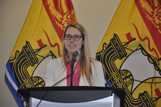 Katelyn McGrath, Western Valley Regional Service Commission executive and planning director, is shown in a file photo. McGrath says the commission has received a long-awaited document from public safety regarding regional policing.