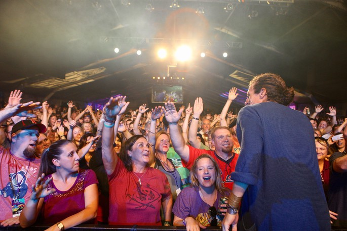 New Orleans-based pop-rockers The Revivalists perform in this file photo at the Harvest Jazz and Blues Festival in Fredericton. The festival returns this September after the COVID-19 pandemic forced the festival to go virtual in 2020.