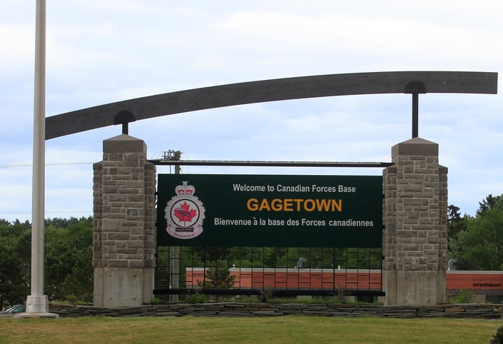 5th Canadian Division Support Base Gagetown.