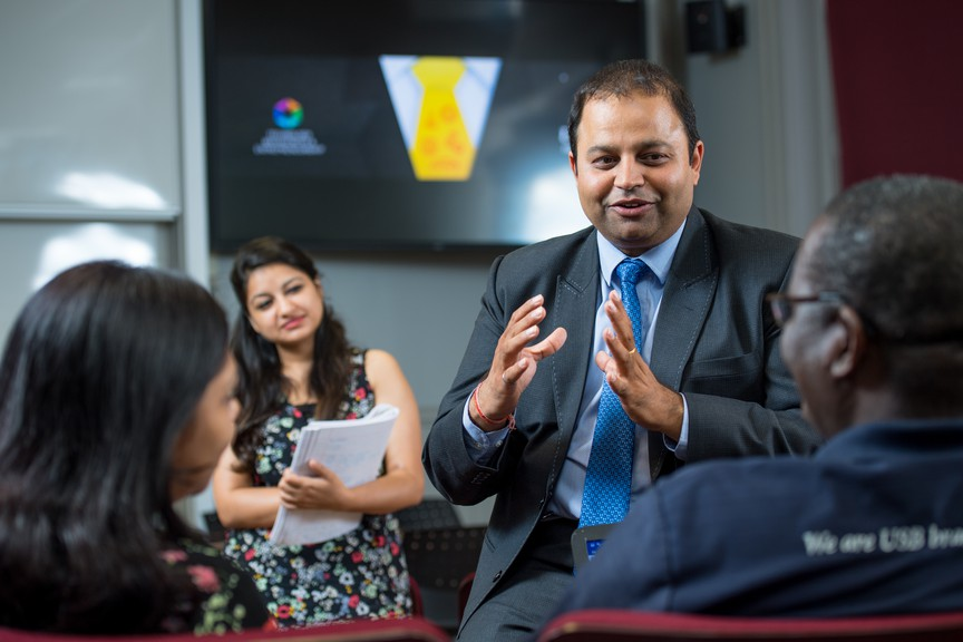 Dhirendra Shukla, chair of the Dr. J. Herbert Smith Centre for Technology Management and Entrepreneurship at the University of New Brunswick