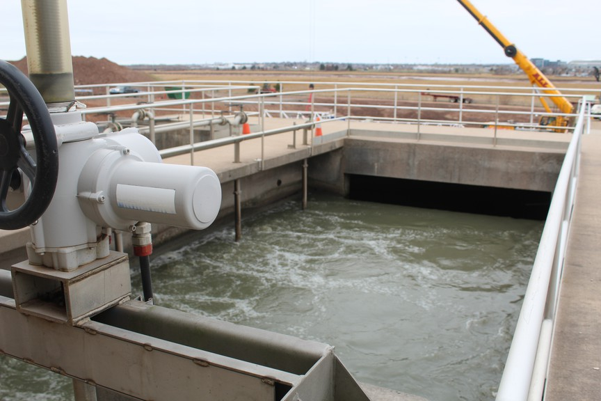 About 60 million litres of water flow each day through the TransAqua wastewater treatment plant in Riverview. The plant is going through a $90-million upgrade.